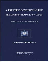 A Treatise Concerning the Principles of ... by Berkeley, George