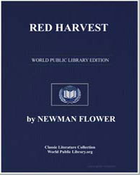 Red Harvest by Flower, Newman, Sir