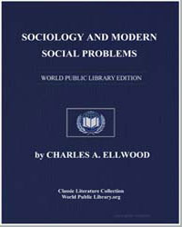 Sociology and Modern Social Problems by Ellwood, Charles Abram