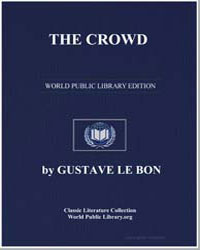 The Crowd by Le Bon, Gustave