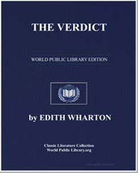 Verdict by Wharton, Edith