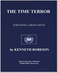 The Time Terror by Robeson, Kenneth
