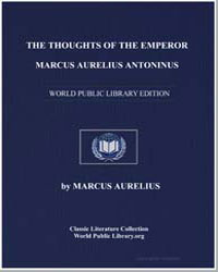 The Thoughts of the Emperor M. Aurelius ... by Aurelius, Marcus