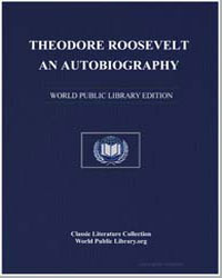 Theodore Roosevelt, An Autobiography by Roosevelt, Theodore