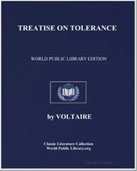Treatise on Tolerance by Voltaire