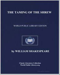 The Taming of the Shrew by Shakespeare, William