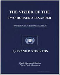 The Vizier of the Twohorned Alexander by Stockton, Frank Richard