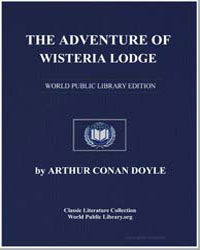 The Adventure of Wisteria Lodge by Doyle, Arthur Conan, Sir