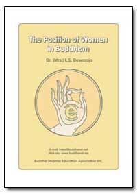 The Position of Women in Buddhism by Dewaraja, L. S., Dr.