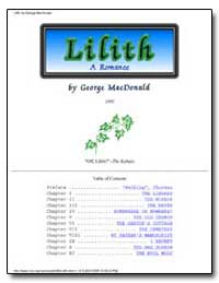 Lilith a Romance by Macdonald, George, Ll. D.