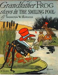 Grandfather Frog Stays in the Smiling Po... by Burgess, Thornton Waldo