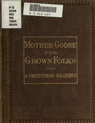 Mother Goose for Grown Folks : A Christm... by