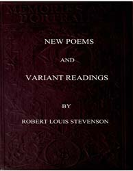 New Poems and Variant Readings by Stevenson, Robert Louis