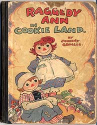 Raggedy Ann in Cookie Land by Gruelle, Johnny