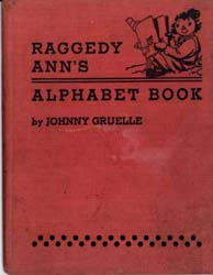 Raggedy Ann's Alphabet Book by Gruelle, Johnny