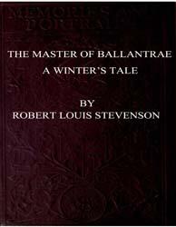 The Master of Ballantrae : A Winters Tal... by Stevenson, Robert Louis