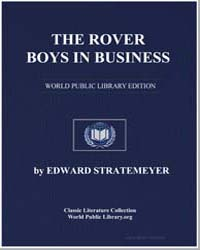 The Rover Boys in Business, Or, The Sear... by Stratemeyer, Edward