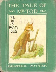 The Tale of Mr. Tod by Potter, Beatrix