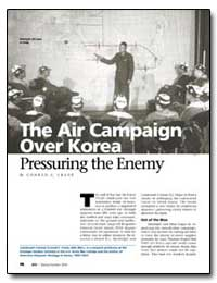 The Air Campaign Over Korea Pressuring t... by Crane, Conrad C.