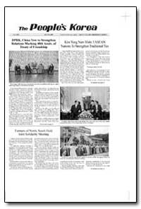 The People's Korea Dprk, China Vow to St... by Jong Il, Kim