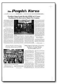 The People's Korea President Jiang Zemin... by Zemin, Jiang