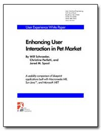 Enhancing User Interaction in Pet Market by Schroeder, Will