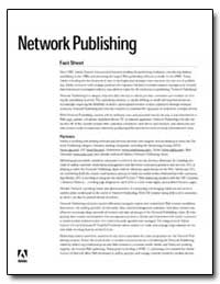 Network Publishing by