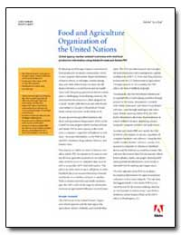 Food and Agriculture Organization of the... by