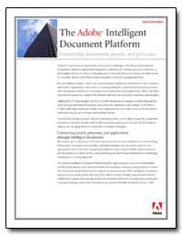 The Adobe Intelligent Documents Platform... by