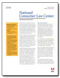National Consumer Law Center by