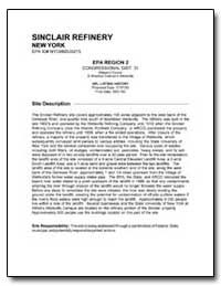Sinclair Refinery by Environmental Protection Agency