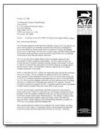 The Honorable Christine Todd Whitman Adm... by Environmental Protection Agency