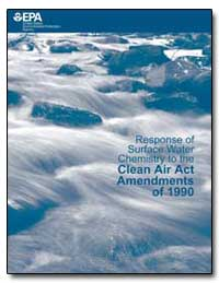 Response of Surface Water Chemistry to t... by Gilman, Paul, Ph. D.