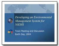 Developing an Environmental Management S... by Environmental Protection Agency