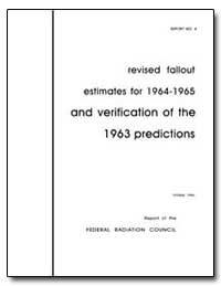 Revised Fallout Estimates for 1964-1965 ... by Environmental Protection Agency