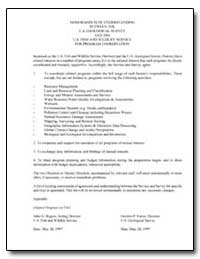 Memorandum of Understanding between the ... by Environmental Protection Agency