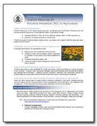 Internet Resources for Pollution Prevent... by Environmental Protection Agency