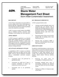 Storm Water Management Fact Sheet Storm ... by Environmental Protection Agency