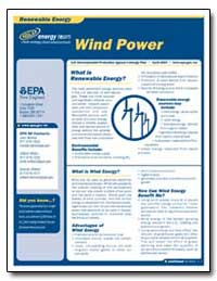 What Is Renewable Energy by Environmental Protection Agency