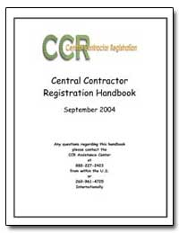 Ccr Central Contractor Registration Hand... by Federal Trade Commission