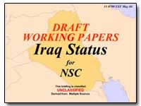 Draft Working Papers Iraq Status by Federal Trade Commission