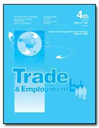 Trade and Emploments Absolute Change and... by Reich, Robert
