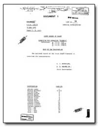 Joint Chiefs of Staff Directive for Oper... by Central Intelegence Agent