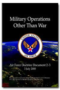Military Operations Other Than War by Ryan, Michael E.