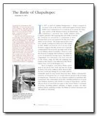 The Battle of Chapultepec by Walker, James