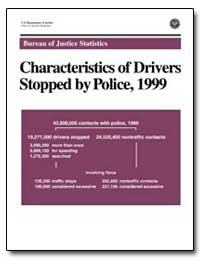 Characteristics of Drivers Stopped by Po... by Daniels, Deborah J.