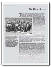 The Dirac Series by