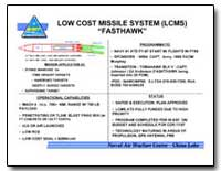 Low Cost Missile System (Lcms) Fasthawk by