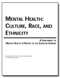 Mental Health: Culture, Race, And Ethnic... by Arons, Bernard S.
