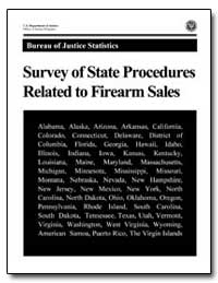 Survey of State Procedures Related to Fi... by Chaiken, Jan M.